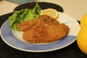 Learn Italian words: cotoletta - Presente progressivo