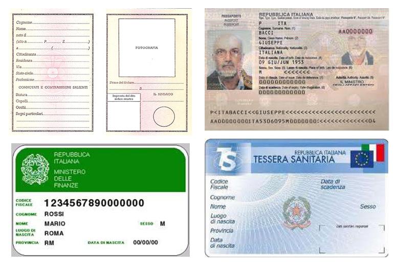 Italiano L2 carta d'identità