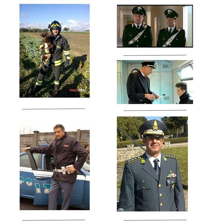 imperativo formale - forze dell'ordine